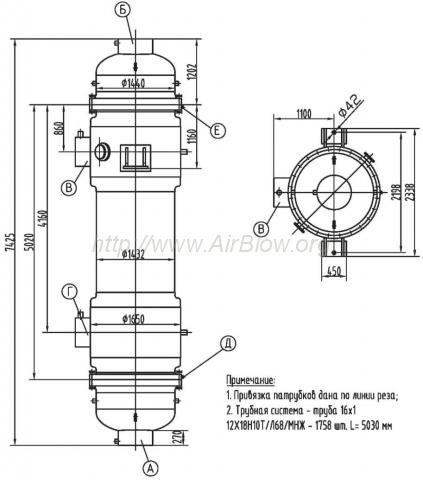 Водяной трубный теплообменник Уплотнения теплообменника Kelvion NH350M Саров